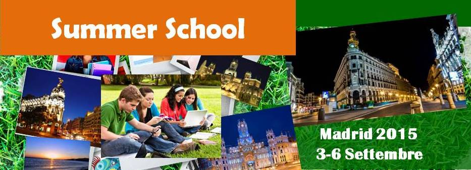 Summer school Madrid 2015